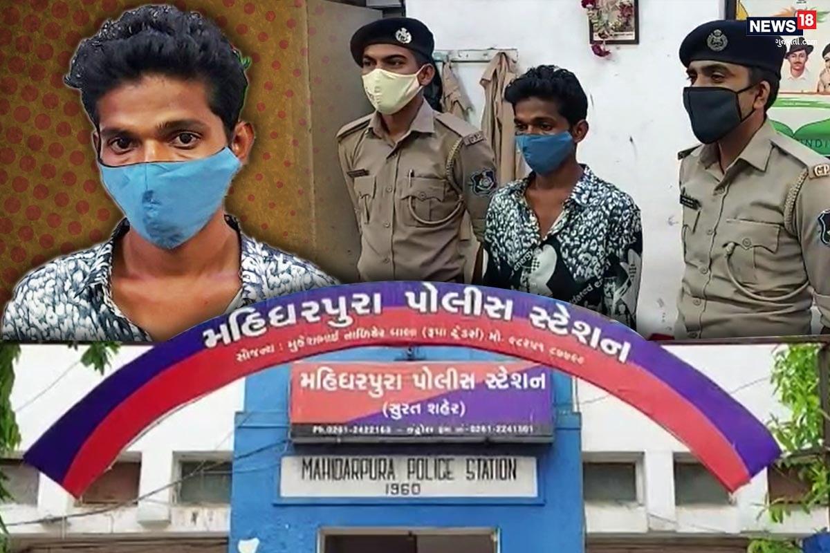 કિર્તેશ પટેલ, સુરત : સુરતમાં (Surat) છેલ્લા લાંબા સમયથી નશાનો કારોબાર ઉપર પોલીસે તવાઇ બોલાવી છે ત્યારે ગઈકાલે રાત્રે મહિધરપુરા પોલીસે મુંબઈથી (Mumbai) ડ્રગ્સનો (Drugs) જથ્થો લઇ આવતા એક યુવકને ઝડપી પાડયો હતો જોકે આ યુવક પાસેથી 1.56 લાખની કિંમતનો મળી આવ્યું હતું તેની પૂછપરછ દરમિયાન મુંબઈમાં એક રીક્ષા વાળા પાસેથી લાવી પોતે તેનો ઉપયોગ કરતો હતો અને વિચાર કરતો હોવાની કબૂલાત કરતાં પોલીસે વધુ કાર્યવાહી શરૂ કરી છે. જોકે, આશ્ચર્યની વાત એ છે કે આ યુવક પાસેથી 15 ગ્રામથી થોડું વધુ એમડી ડ્રગ્સ (MD Drugs) ઝડપાયું છે. 15 ગ્રામ સોનાની કિંમત સાથે 15 ગ્રામ એમડી ડ્રગ્સની કિંમતને સરખાવતા સોના (Gold price) કરતાં બમણા ભાવે આ ડ્રગ્સ વેચાતું હોવાનું જાણવા મળે છે.