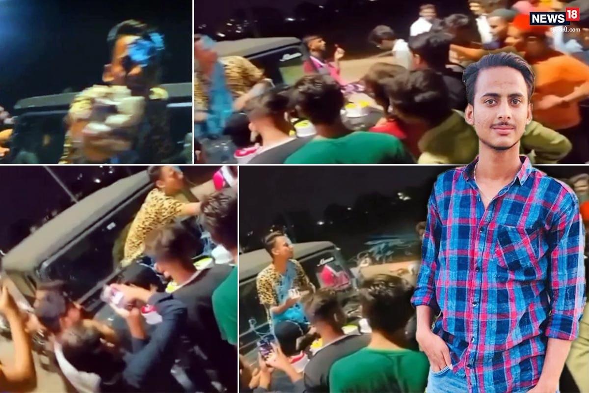 video_બારડોલીઃ તોરીક મેમણે જાહેરમાં થાર ગાડી પર કેક કાપી જન્મદિવસ ઉજવ્યો, 'રોલો' પાડવા જતાં થયો જેલ ભેગો