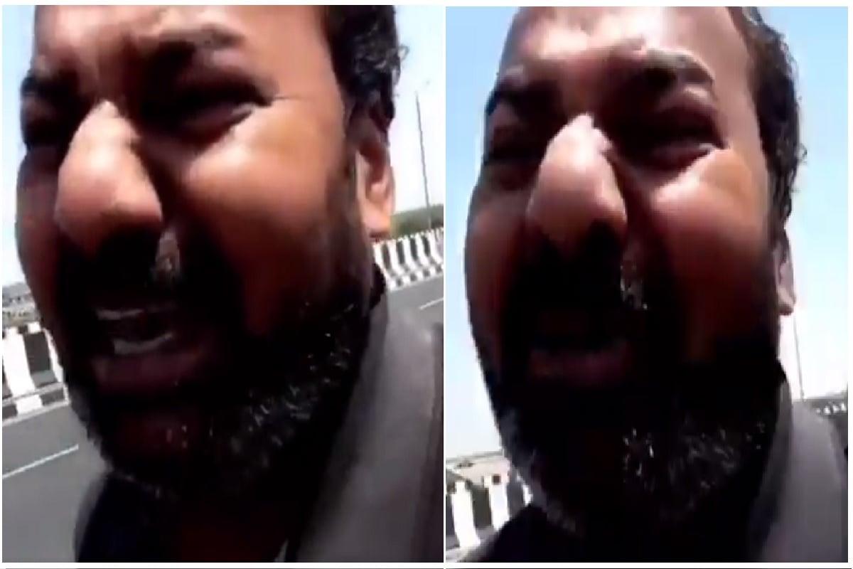 Viral Video: પતિએ પત્નીને કહ્યું 'દિલ ચીર કે દેખ તેરા હી નામ હોગા'.. પત્ની ચપ્પુ લઈને દીલ ચીરવા પડી પાછળ