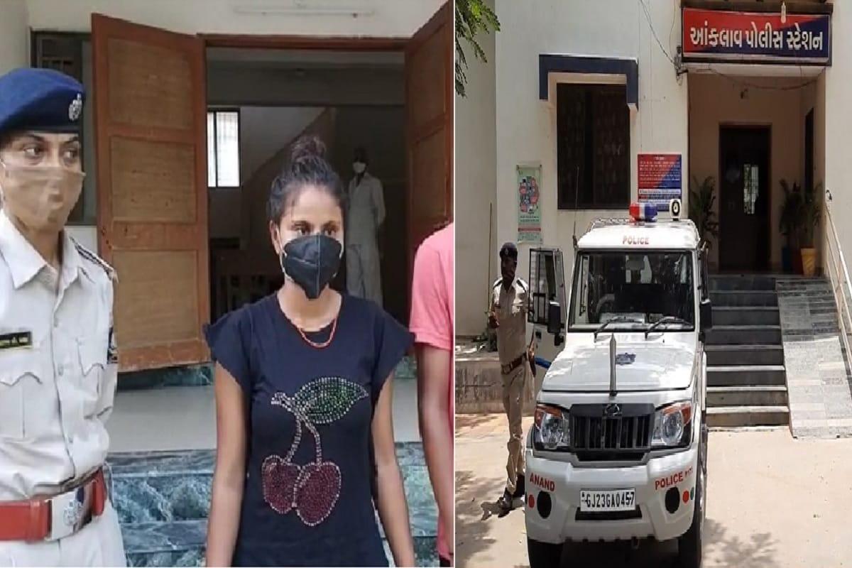 આણંદમાં 'ઉલટી ગંગા': ડિવોર્સી યુવતી સગીરને લઈ ભાગી ગઈ, પોલીસ પણ પુરો કિસ્સો સાંભળી ચોંકી ગઈ