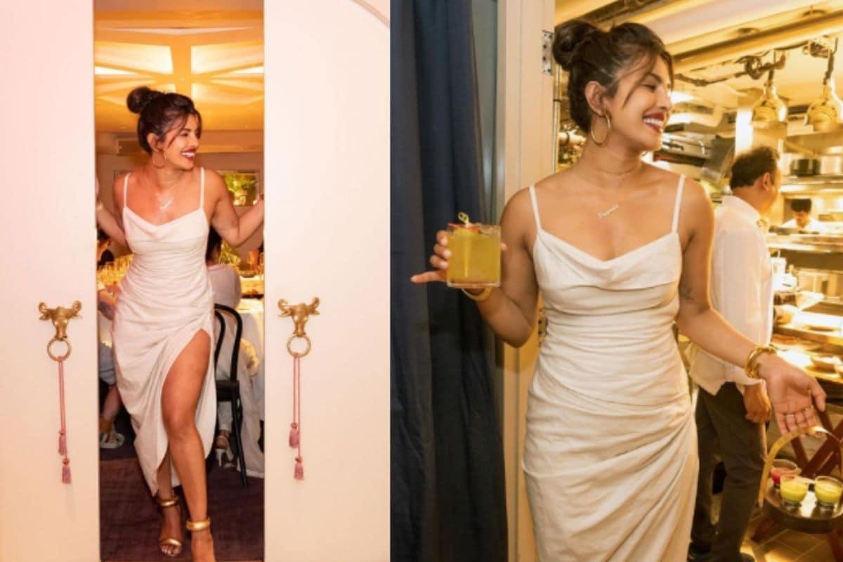 મુંબઈ: બોલિવૂડ અભિનેત્રી પ્રિયંકા ચોપડા (Bollywood actress Priyanka Chopra)એ વર્ષની શરૂઆતમાં ન્યૂયૉર્કમાં પોતાની ભારતીય રેસ્ટોરન્ટ સોના (Priyana Chopra Indian Restaurant SONA)શરૂ કરી હતી. પ્રિયંકા ચોપડાની આ રેસ્ટોરન્ટની ખૂબ ચર્ચા થઈ રહી છે. દેશી ગર્લ પ્રિયંકા ચોપડાએ પોતાની રેસ્ટોરન્ટ અંગે સોશિયલ મીડિયામાં જાણકારી આપી હતી. આ સાથે અનેક તસવીરો પણ શેર કરી હતી. આ તસવીરો સામે આવ્યા બાદ અભિનેત્રીને અનેક લોકોએ અભિનંદન પાઠવ્યા હતા. હવે પ્રિયંકાએ ફરી એકવાર પોતાની રેસ્ટોરન્ટની તસવીરો શેર કરી છે. (તસવીર- ઇન્સ્ટાગ્રામ @priyankachopra)