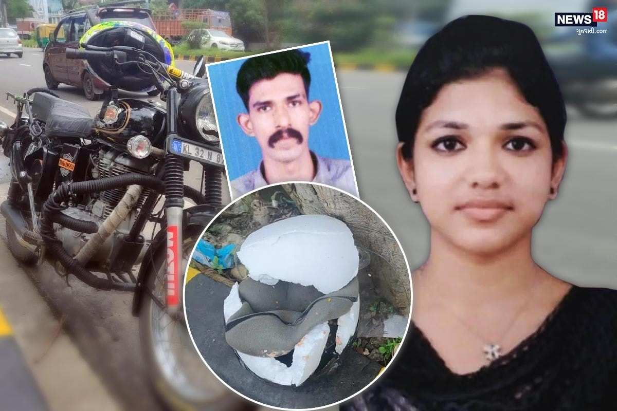 કોચીઃ કેરળના કોચીમાં (Road accident in Kerala kochi) એક કમકમાટી ભરી ઘટના બની હતી. અહીં ટેન્કર નીચે આવી (tanker hit bike) જતાં હોસ્પિટલમાં કામ કરતાં યુવક અને યુવતીના ઘટના (Hospital girl and boy died in accident) સ્થળે મોત નીપજ્યા હતા. ઘટનાની તસવીરો જોઈએ તો તેમના હેલ્મેટના પણ ભુક્કા બોલાઈ ગયા હતા. હેલ્મેટ પણ તેમનો જીવ બચાવી શક્યું નહતું. ઘટનાની જાણ થતાં પરિવારજનોમાં શોકની લાગણી ફેલાઈ હતી.