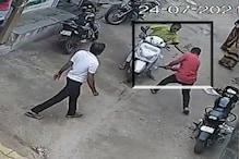 કચ્છ : કોટડા ચકારના સરપંચ પર હુમલાનો CCTV Video, પંચાયતના જ સદસ્યએ ઘોકાના ફટકા માર્યા