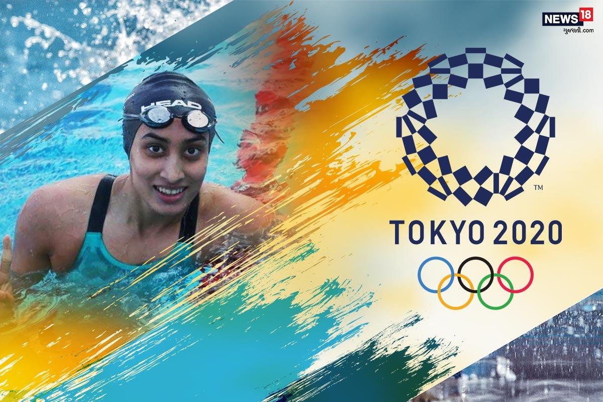 અમદાવાદ : ટોક્યો ઓલિમ્પિક્સમાં (Tokyo Olympics) આજે ભારત વતી ટેનિસ (Tennis) ડબલ્સમાં પ્રતિનિધિત્વ કરી રહેલી ગુજરાતની ટેનિસ પ્લેયર અંકિતા રૈનાએ સાનિયા મિર્ઝા (Sania Mirza-Ankita Raina) સાથે ડબલ્સમાં ભાગ લીધો હતો. જોકે, યુક્રેનની ખેલાડીઓ સામે બીજા સેટમાં તેમની હાર થઈ હતી. આ મેચ બાદ રાજ્યના ચાહકો નિરાશ થયા છે પરંતુ સૌની નજર બપોરે યોજાનારી તરણ સ્પર્ધા પર છે જેમાં ગુજરાતની અન્ય તરણવીર (Swimmer) માના પટેલ (Mana Patel) ભાગ લેશે. ટોક્યો ઓલિમ્પિક્સમાં માના પટેલ 100 મીટર બેકસ્ટ્રોકમાં ભાગ લેવાની છે. આ સ્પર્ધાનું પ્રસારણ બપોરે 3.00 કલાકથી નિહાળી શકાશે. આજે જ્યારે માના પટેલ ઓલિમ્પિકમાં મેડલની અપેક્ષા સાથે સ્પર્ધામાં ભાગ લેશે ત્યારે તેની રસપ્રદ કહાણી કેટલીય છોકરીઓને પ્રેરણા આપી શકે છે.