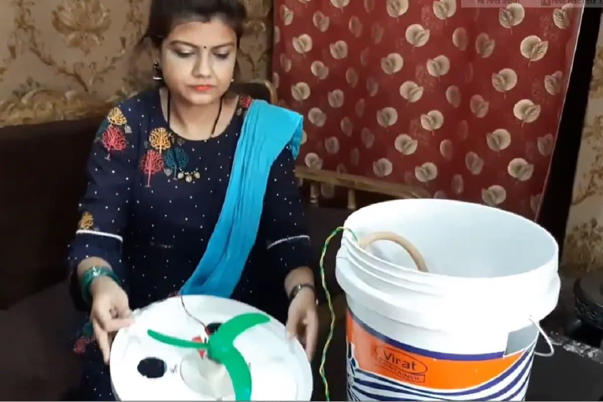 શિક્ષિકાએ 500 રૂપિયામાં બનાવ્યું Eco Friendly Cooler, જાણો તમે ઘરે બેઠા કેવી રીતે બનાવી શકો