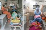 ગુજરાતમાં 5 વર્ષમાં 108 દ્વારા 43,420 મહિલાઓની પ્રસુતિ એમ્બ્યુલન્સ કે રસ્તા પર કરાઇ
