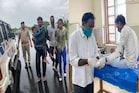 ગોધરાઃ PIની માનવતા, અકસ્માત ગ્રસ્ત બાઈક સવારોને પોતાની જીપમાં પહોંચાડ્યો હોસ્પિટલ