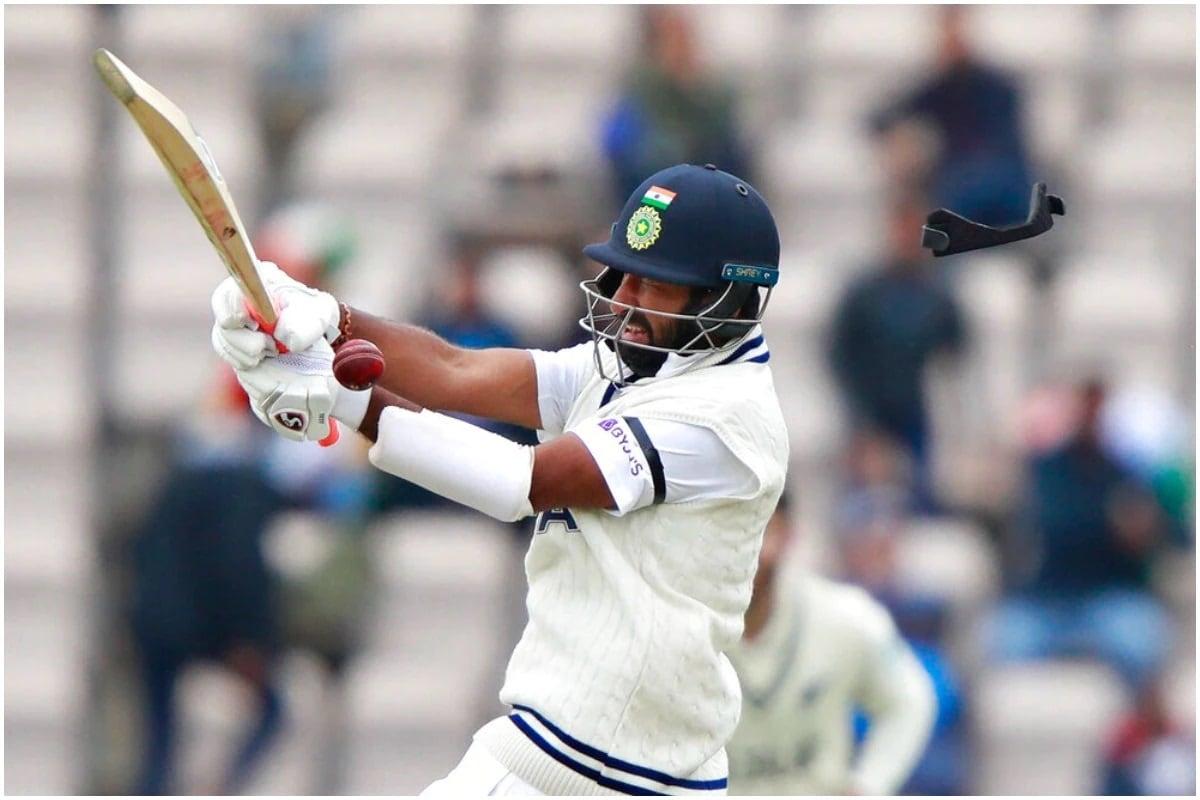નવી દિલ્હી : ટીમ ઇન્ડિયાની દિવાલ ગણાતા ચેતેશ્વર પૂજારાનું (Cheteshwar Pujara) ખરાબ ફોર્મ સતત યથાવત્ છે. લોર્ડ્સ ટેસ્ટની (India vs England, 2nd Test)પ્રથમ ઇનિંગ્સમાં પૂજારા ફક્ત 9 રન બનાવી આઉટ થયો છે. પૂજારા જેમ્સ એન્ડરસનનો શિકાર બન્યો હતો. તે સ્લિપમાં બેયરસ્ટોના હાથે કેચ આઉટ થયો હતો. (PIC:AP)