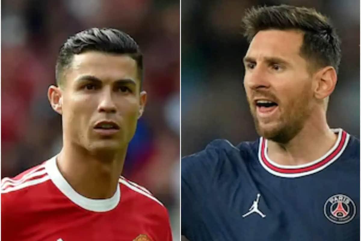 નવી દિલ્હી. ફોર્બ્સે (Forbes) 2021માં સૌથી વધુ કમાણી કરનારા ફુટબોલરોની (Highest Earning Footballer) યાદી જાહેર કરી છે. તેમાં પોર્ટુગલના ક્રિસ્ટિયાનો રોનાલ્ડો (Cristiano Ronaldo) 125 મિલિયન ડૉલર કમાણી સાથે શિખર પર છે. બીજા નંબર પર આર્જેન્ટિનાનો લિયોનેલ મેસ્સી (Lionel Messi) છે જેણે 110 મિલિયન ડૉલરની કમાણી કરી છે. (તસવીર- AP)