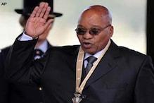 جنوبی افریقہ کے صدر جیکب زوما اسپتال میں داخل