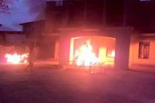 منی پور کے وزیر، ایم پی اور اراکین اسمبلی کے گھروں میں آتش زنی، کرفیو نافذ