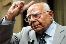بی جے پی کو مدعو کرنے کے کرناٹک گورنر کے فیصلہ کو سینئر وکیل رام جیٹھ ملانی نے سپریم کورٹ میںکیا چیلنج