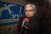 ملک میں پیدا ہو رہے ڈر اور خوف کے ماحول کے خلاف آواز اٹھائے اپوزیشن : شبنم ہاشمی