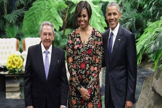 اوبامہ اور کاسترو کے درمیان تاریخی ملاقات ،88 سال بعد ٹوٹا جمود