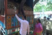 ناندیڑ میں شیوسینکوں نے ہڈیاں لے جارہے ٹرک کو کروایا ضبط
