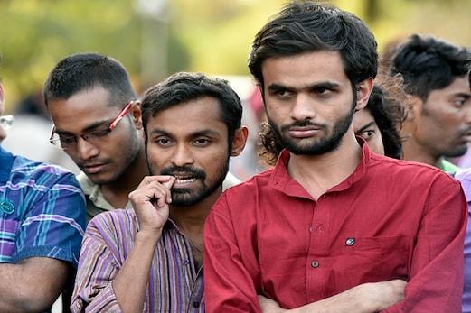 جے این یو تنازع : کنہیا کمار پر 10 ہزار روپے کا جرمانہ ، عمر خالد ایک سیمسٹر کیلئے سسپینڈ