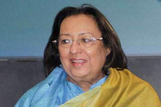 استعفی پر نجمہ ہیپت اللہ نے کہا : میں نے ذاتی وجوہات کی بنیاد پر دیا استعفی