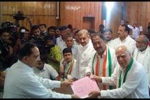 کپل سبل نے کانگریسی امیدوار کے طور پر راجیہ سبھا کے لئے داخل کئے کاغذات نامزدگی
