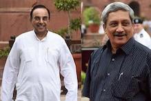 راجیہ سبھا میں پاریکر اور سبرامنیم سوامی کو گھیرنے کی تیاری میں کانگریس
