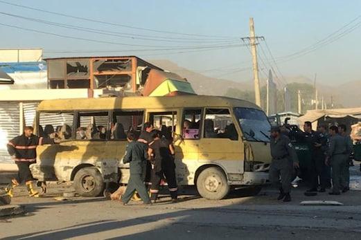 افغانستان: منی بس میں دھماکہ، متعدد افراد ہلاک، دو دیگر زخمی