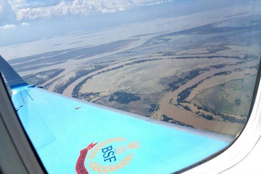 آسام میں سیلاب کا قہر ، تقریبا 17 لاکھ افراد متاثر، وزیر داخلہ نے کیا ہوائی سروے