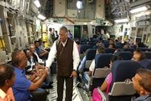 آپریشن سنکٹ موچن  :  156 ہندوستانیوں کا پہلا قافلہ سوڈان سے دہلی  پہنچا