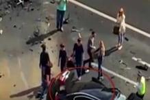 سڑک حادثہ کا شکار ہوئی روسی صدر پوتن کی کار، پرخچے اڑ گئے