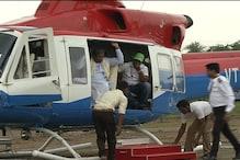 وزیر اعلیٰ سدرامیا نے گلبرگہ کے  بارش زدہ علاقوں کا کیا فضائی دورہ،25 کروڑ روپئے کی ایمرجنسی امداد