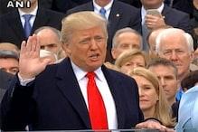 لائیو: ڈونالڈ ٹرمپ نے صدر کے عہدے کا لیا حلف، کہا، روئے زمین سے اسلامی دہشت گردی کو ختم کریں گے