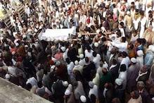 جھنڈا نگر: مولانا عبدالحنان فیضی سپرد خاک، نماز جنازہ میں ہزاروں افراد کی شرکت