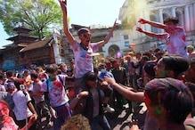 ملک بھر میں ہولی کا جشن ، صدر ، نائب صدر ، وزیر اعظم اور سونیا گاندھی نے دی ہم وطنوں کو مبارکباد