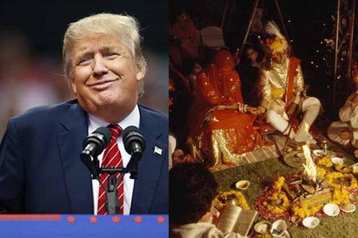 ٹرمپ کا سائیڈ افیکٹ ، ہندوستان میں کم ہورہا ہے امریکی دولہوں کا کریز