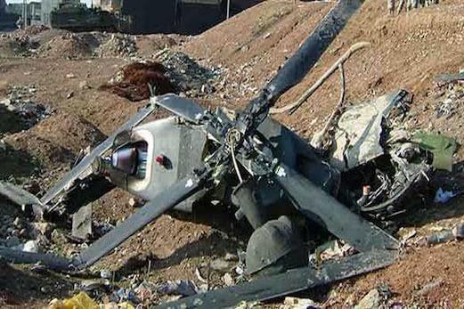 سعودی عرب کا فوجی ہیلی کاپٹر گر کر تباہ، 12 افراد کی موت