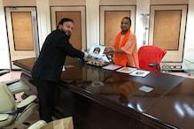 ظفر سریش والا کے ساتھ ملاقات میں وزیر اعلیٰ آدتیہ ناتھ نے اردو یونیورسیٹی کے لئے کیا یہ وعدہ