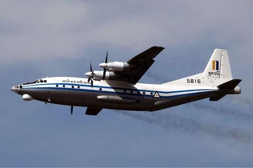 میانمار :116 مسافروں کو لے جا رہا فوجی طیارہ حادثہ کا شکار ، سمندر میں ملا ملبہ