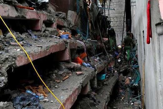 کینیا میں عمارت گرنے سے 15 افراد لاپتہ