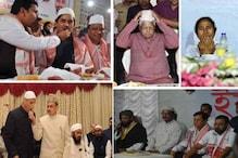 مودی اور یوگی کے انکار کے باوجود بی جے پی کے ان وزرائے اعلی نے دیں افطار پارٹیاں