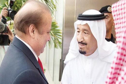 خلیجی ملکوں میں کشیدگی کے بیچ نواز شریف کی شاہ سلمان سے ملاقات، خطہ کی صورت حال پر تبادلہ خیال