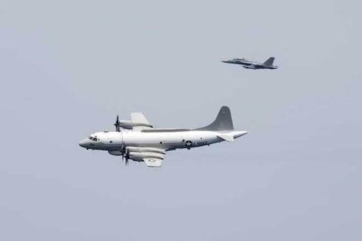 امریکہ کے نگرانی طیارے کو چینی طیارے نے روکا