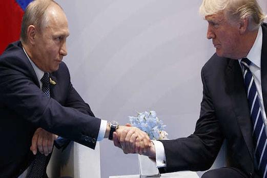 ٹرمپ اور پوتن کے درمیان ملاقات ، شام میں میں جنگ بندی پر دونوں ممالک کے درمیان اتفاق