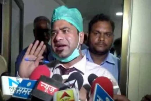 گورکھپور بی آر ڈی میڈیکل کالج  میں بچوں کی اموات کی سلسلہ میں ایس ٹی ایف نے ڈاکٹر کفیل کو کیا گرفتار