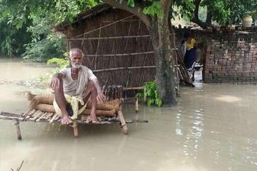 بہار میں سیلاب کی بھیانک تباہی ، اب تک 253 افراد کی موت ، 18 اضلاع کے ایک کروڑ 27 لاکھ افراد متاثر