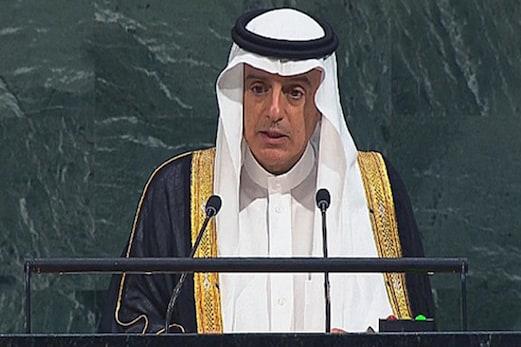 قطر ریاض سمجھوتہ میں کئے وعدوں کو پورا اور دہشت گردوں کی مالی معاونت بند کرے ، سعودی وزیر خارجہ کا اقوام متحدہ میں خطاب