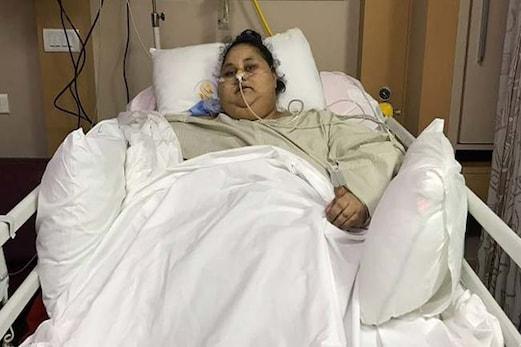 دنیا کی سب سے وزنی مصری خاتون ایمان احمد عبدلاتی کا ابو ظہبی کے اسپتال میںانتقال