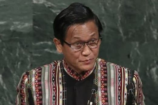 میانمار نائب صدر کا اقوام متحدہ میں خطاب ، راخین میں سلامتی دستے کو اجتماعی نقصان سے بچنے کا دیا گيا حکم