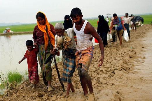 میانمار مسلمانوں کی واپسی روکنے کے لئے سرحد پر بارودی سرنگیں بچھا رہا ہے