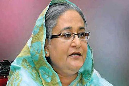 بنگلہ دیش کی وزیراعظم شیخ حسینہ : فائل فوٹو۔