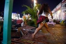 لاس ویگاس :میوزک کنسرٹ کے دوران گونجی چیخو پکار ، دیکھیں کیسے جان بچاکر بھاگے لوگ
