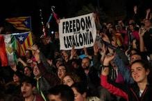 کاتالونیا : 90 فیصد لوگوں کی اسپین سے علاحدگی کےحق میں ووٹنگ ، پرتشدد واقعات میں 844 افراد زخمی