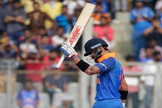 ہندوستان بمقابلہ نیوزی لینڈ : کپتان کوہلی کی شاندار سنچری ، نیوز لینڈ کو جیت کیلئے 281 رنوں کا ہدف